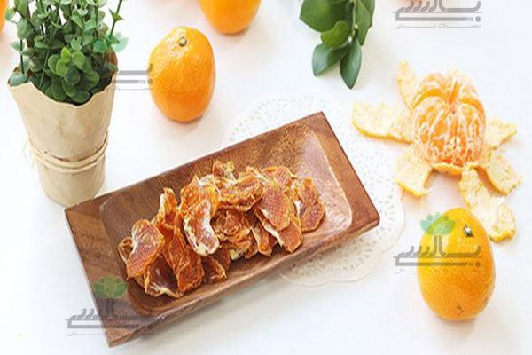 Dried tangerine