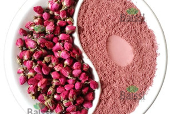 pink rose powder